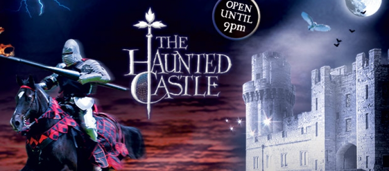 The Haunted Castle returns to Warwick Castle this Halloween (21-31 October)