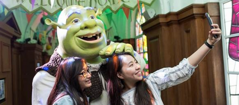Discover your own 'green' fingers at Shrek's Adventure! London this summer